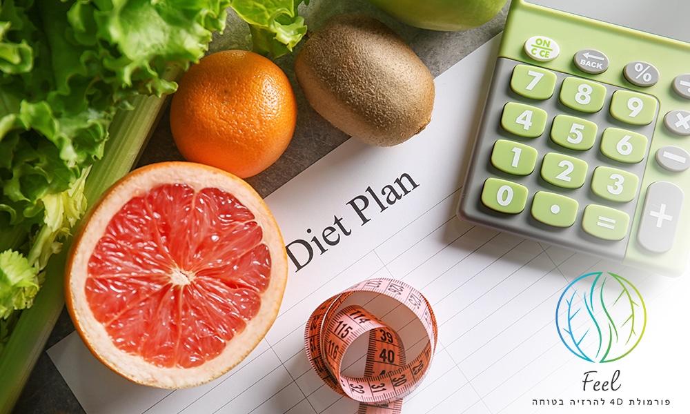 באנר למאמר תפריט לירידה מהירה במשקל